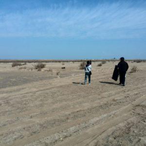 Neteja platja de Migjorn